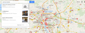 google places local SEO