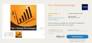 Gruppenpreise Prozentwert