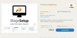 FireGento MageSetup - deutsche Markt