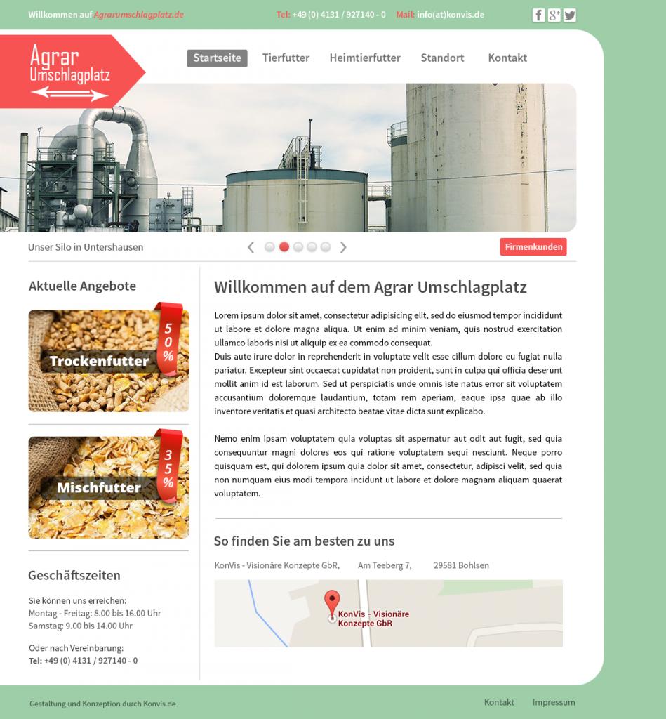 guenstige Internetseite Agrar