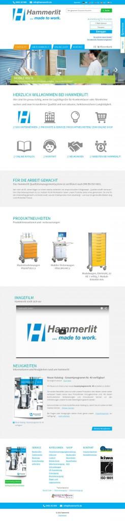 hammerlit.de b2b Magento Online Shop