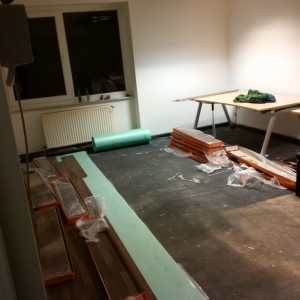 Boden verlegen Hannover Office