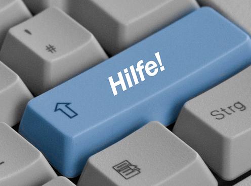 Magento Hilfe Admin