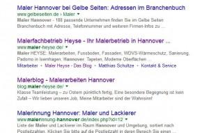 maler Hannover Internetseite Handwerker