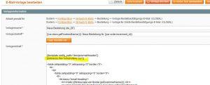 Magento Hilfe Magento E-mail template css inline